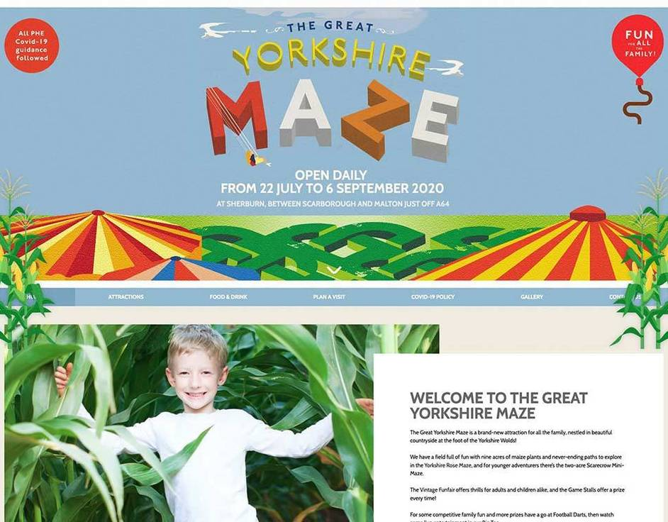 The Groovy Moo website created by it'seeze Scarborough